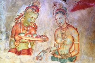 Die Wolkenmädchen von Sigirya
