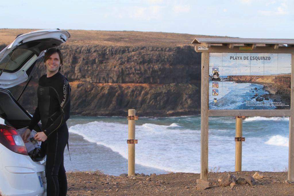 Fuerteventura Mietwagen Surfer