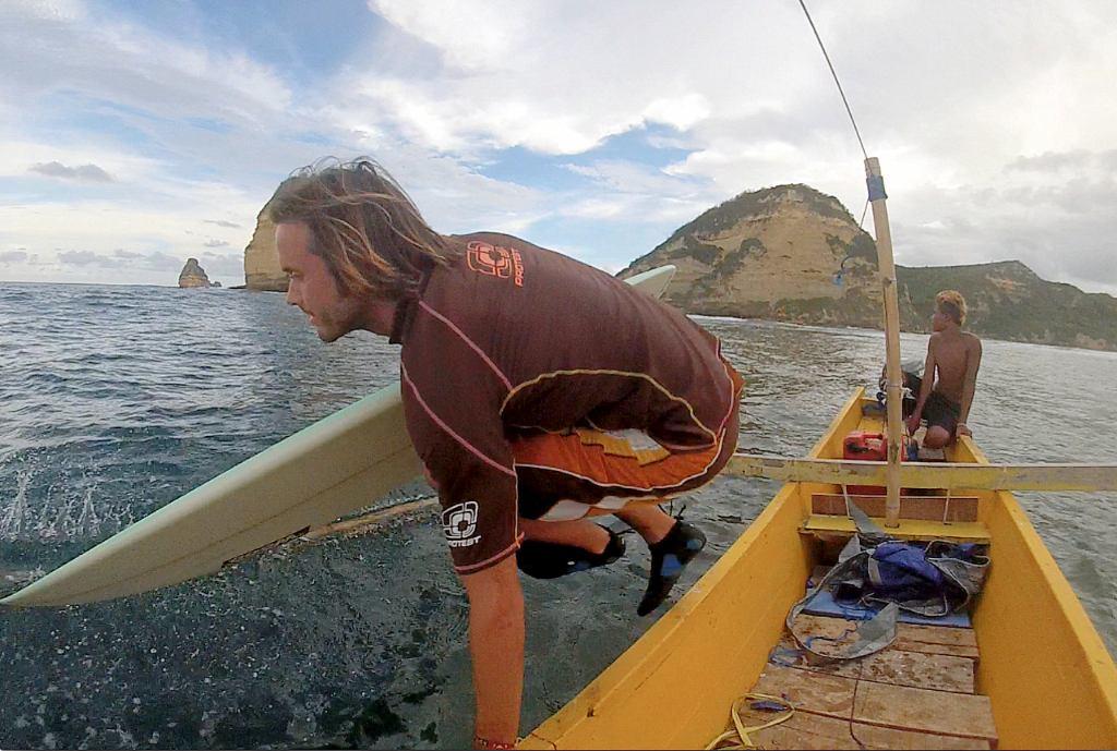Boattrip Surfen Lombok