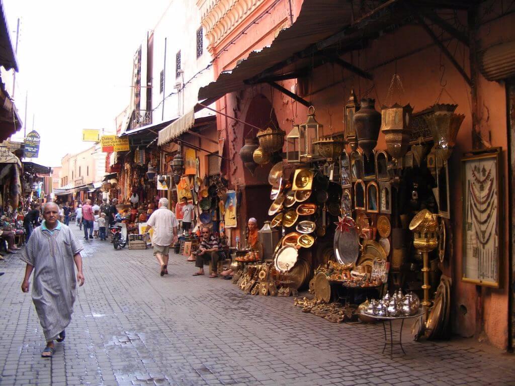 Souk Markt Marrakesch