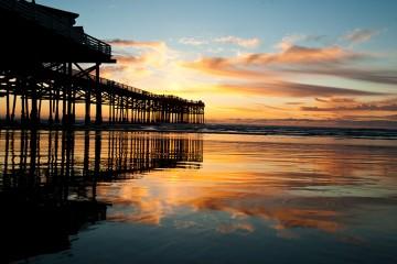 Chrystal Pier in San Diego