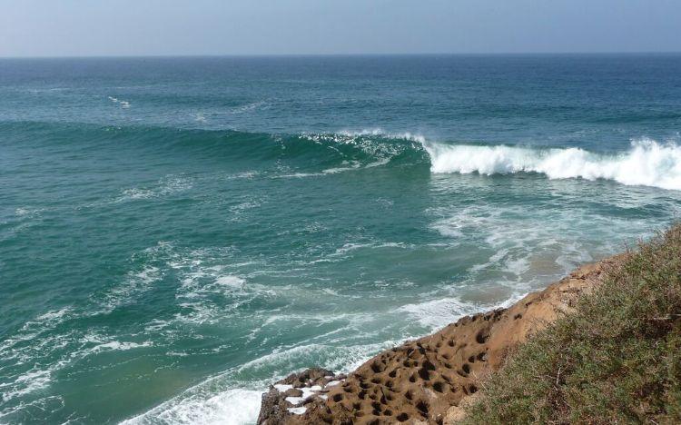 Surfspot Devils Rock Marokko