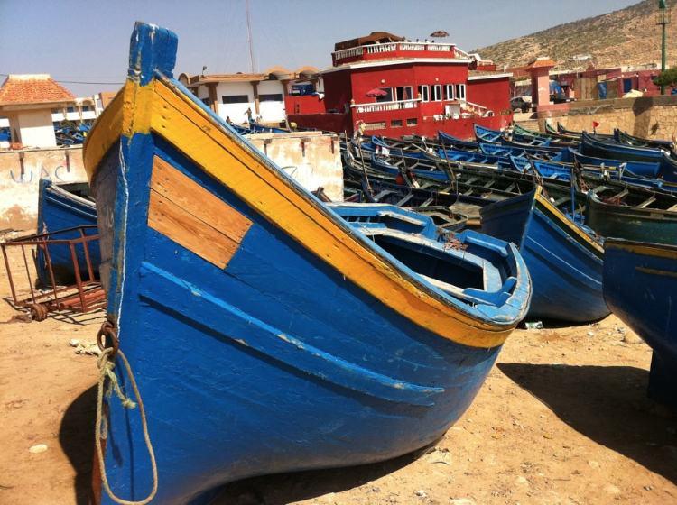 Marokko Imsouane Hafen