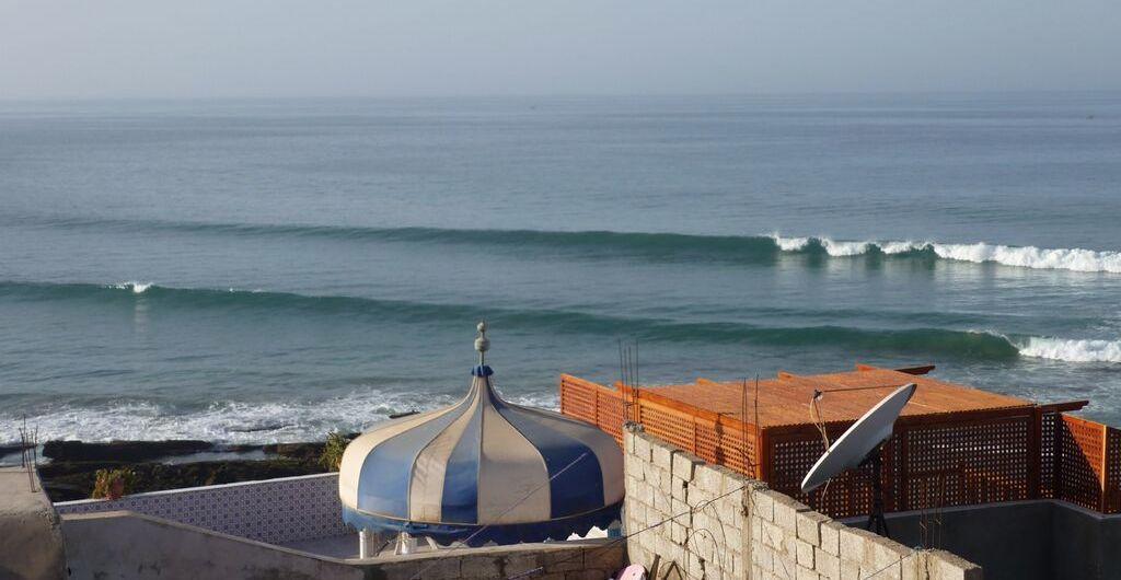 Surfspot Panorama Marokko