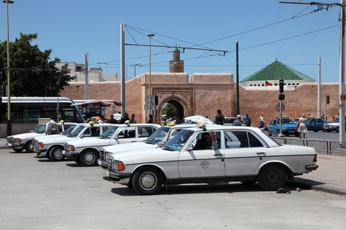 Taxis in Marokko